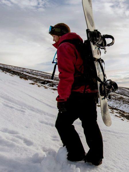 fiberglass-snowboard